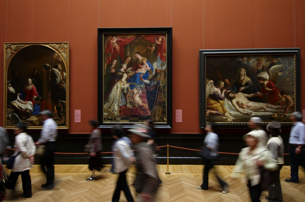 Saalansicht Gemäldegalerie (c) KHM-Museumsverband