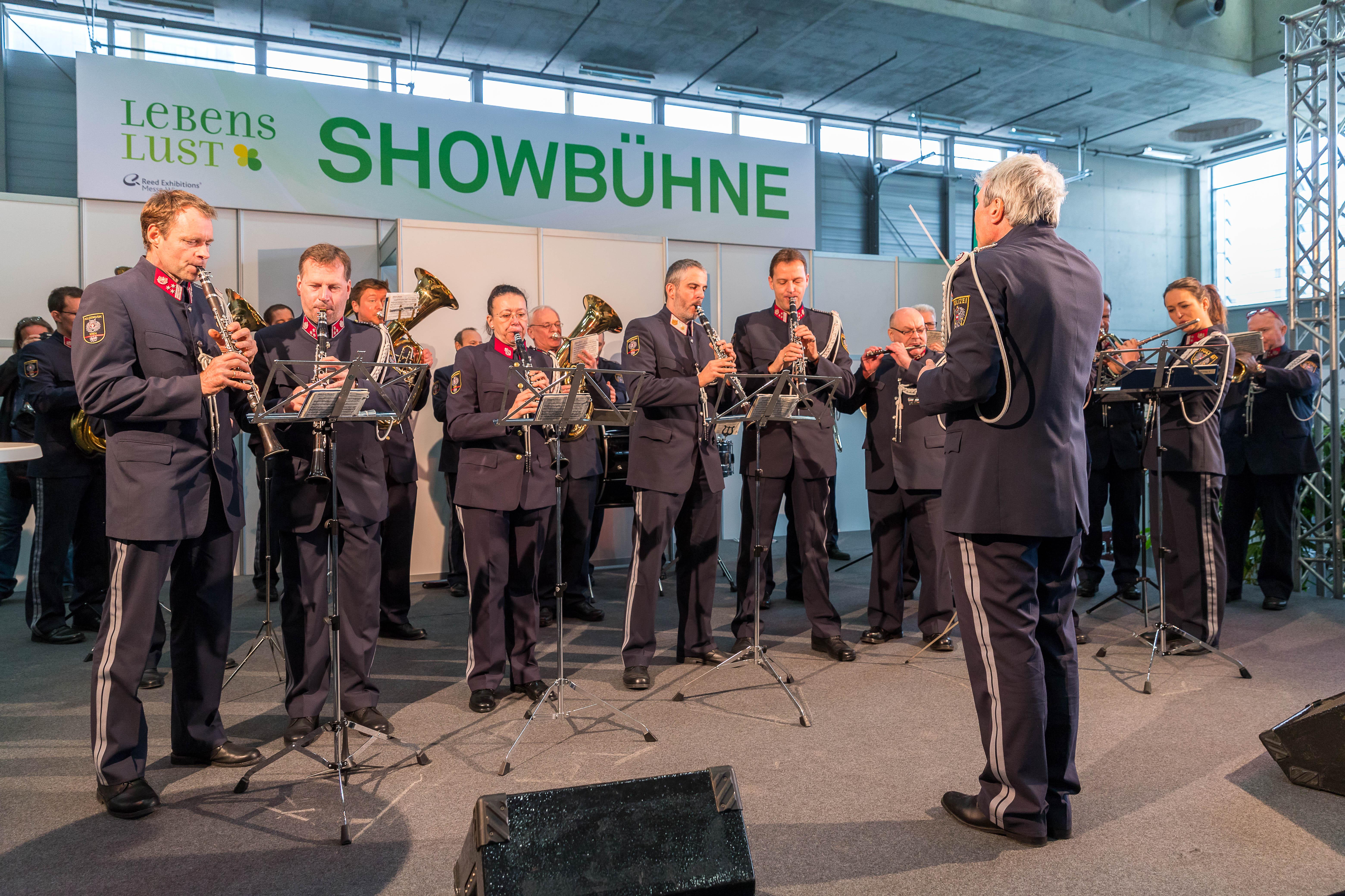 Polizeimusik Wien (c) Reed Messe