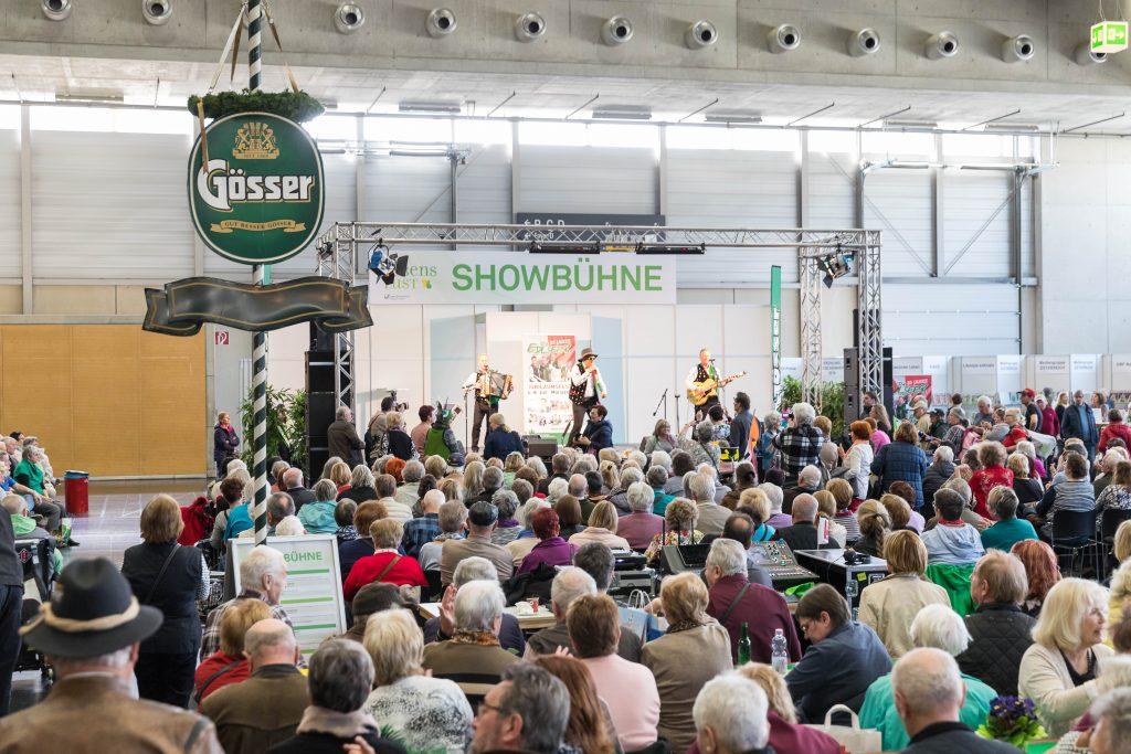 Showbühne (c) Reed Messe