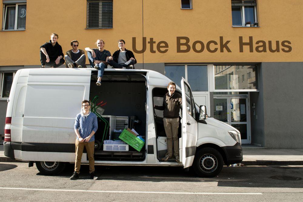 Ute Bock Haus (c) Flüchtlingsprojekt Ute Bock