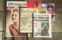 Antiquariat Bücher Ernst Zeitungscollage (c) Antiquariat Bücher Ernst
