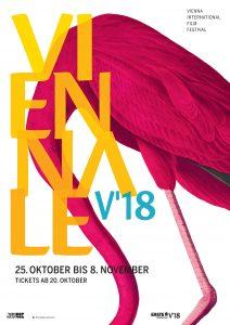 Viennale 2018 Plakat (c) Viennale