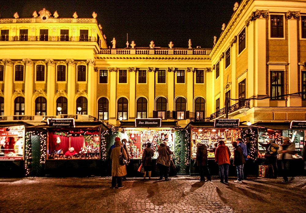 Kultur- und Weihnachtsmarkt Schloß Schönbrunn (c) STADTBEKANNT