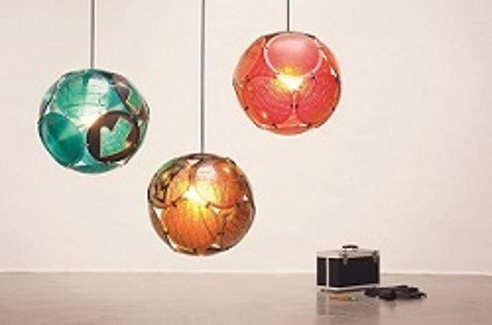 delight Ampellampe (c) gabarage upcycling design