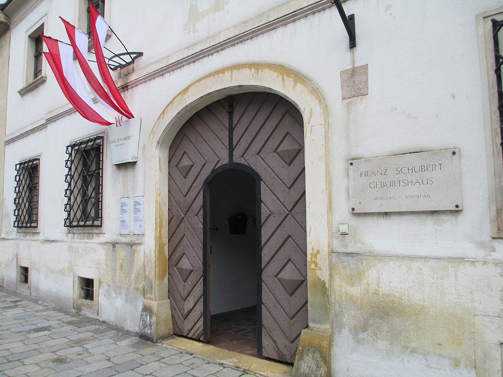 Schubert Geburtshaus (c) STADTBEKANNT Preindl