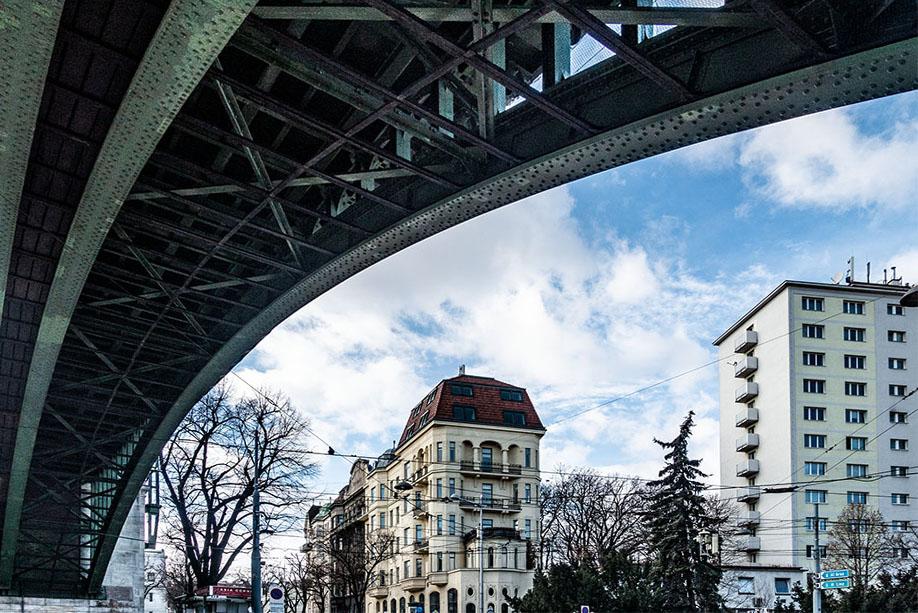U-Bahn Nussdorf Brücke Gürtel (c) STADTBEKANNT
