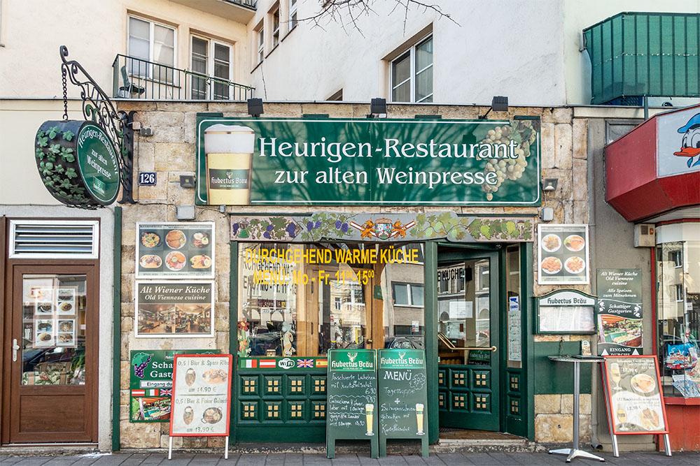 Heurigen-Restaurant Zur alten Weinpresse (c) STADTBEKANNT