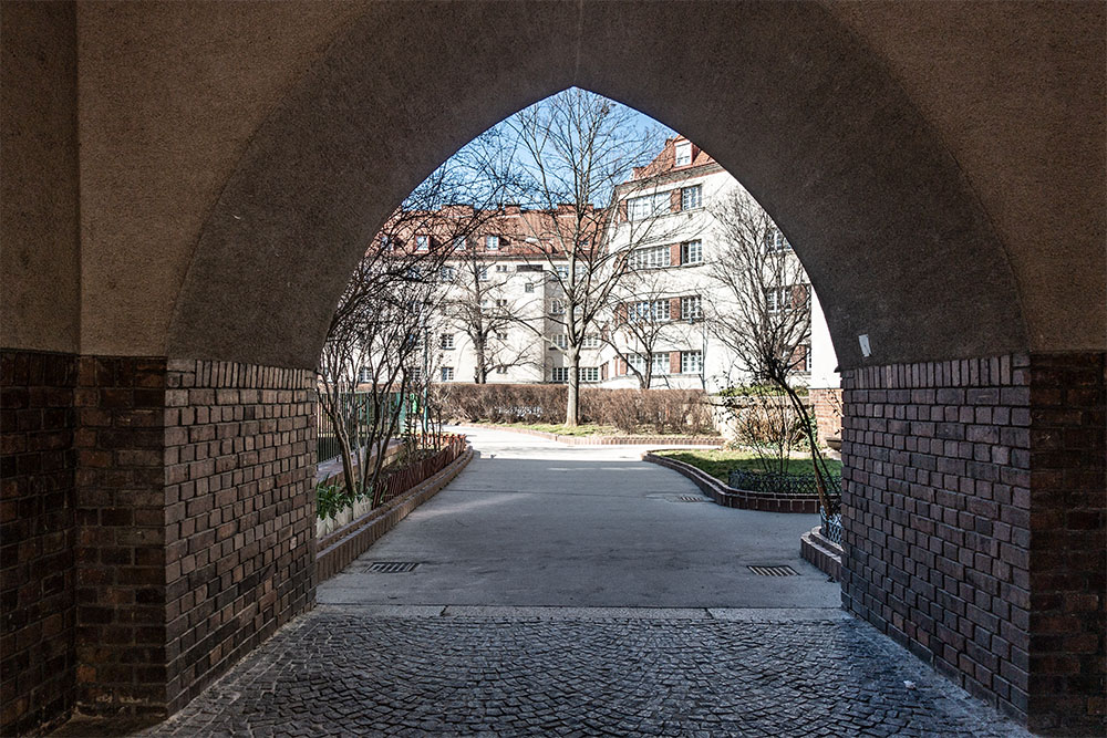 Rabenhof Durchgang (c) STADTBEKANNT