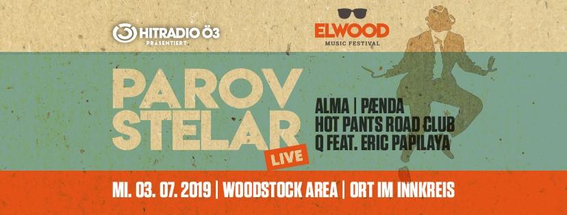 ELWOOD Music Festival mit PAROV STELAR