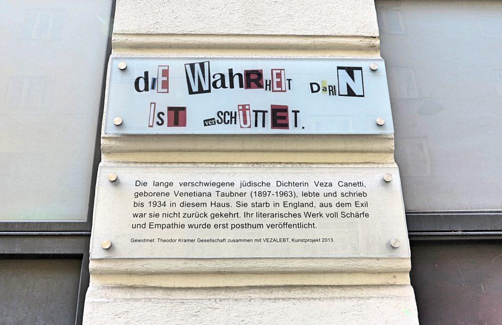 Ferdinandstraße Gedenktafel (c) STADTBEKANNT Jungwirth