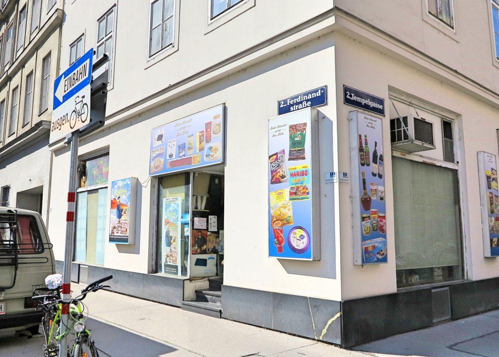 Ferdinandstraße Lebensmittelladen (c) STADTBEKANNT Frühwirth