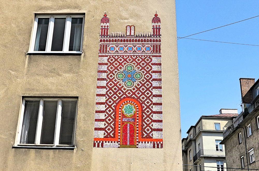 Ferdinandstraße Mosaik (c) STADTBEKANNT Frühwirth
