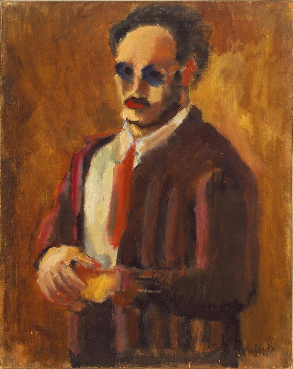 Mark Rothko Self-Portrait (c) 1998 Kate Rothko Prizel & Christopher Rothko/Bildrecht, Wien, 2019