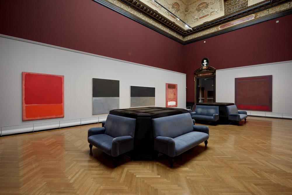 KHM Ausstellungsansicht (c) 1998 Kate Rothko Prizel & Christopher Rothko/Bildrecht, Wien, 2019, Foto: KHM-Museumsverband