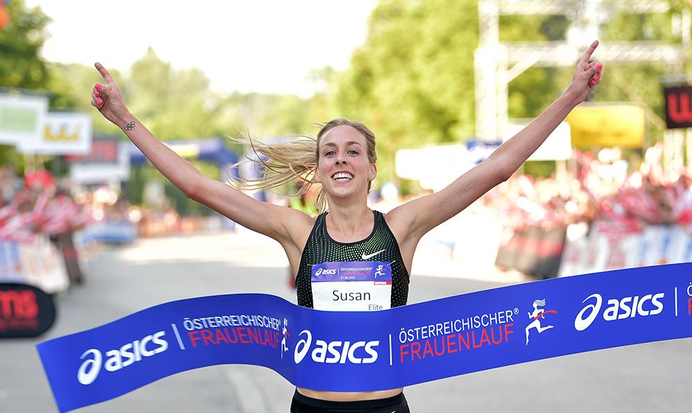 Siegerin 5 km Elite Bewerb - Susan Krumins - NED (c) Agentur Diener