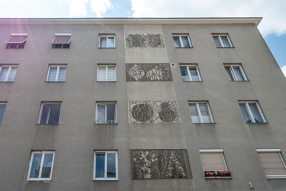 Wohnhaus der Gemeinde Wien (c) STADTBEKANNT