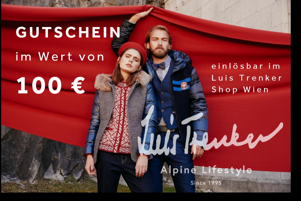 100 Euro Gutschein - Luis Trenker Shop Wien