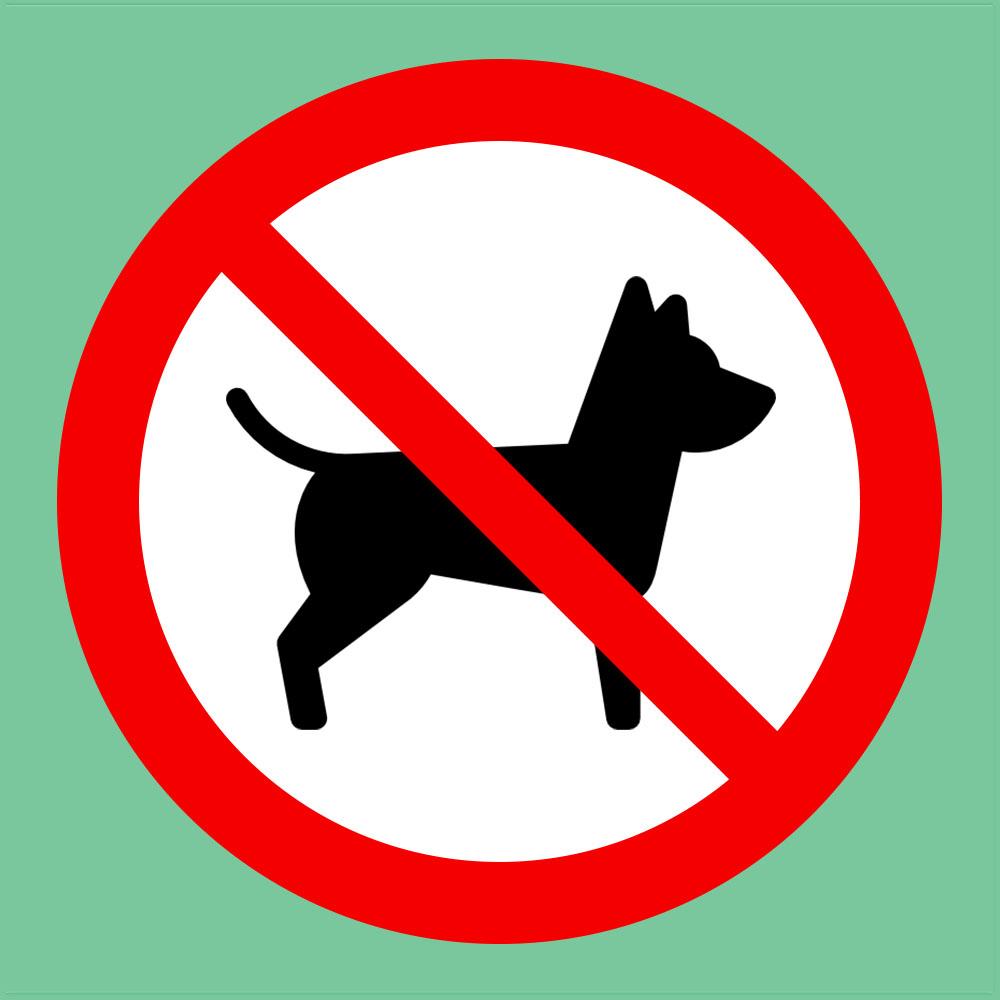 Verbot - Hunde (c) STADTBEKANNT