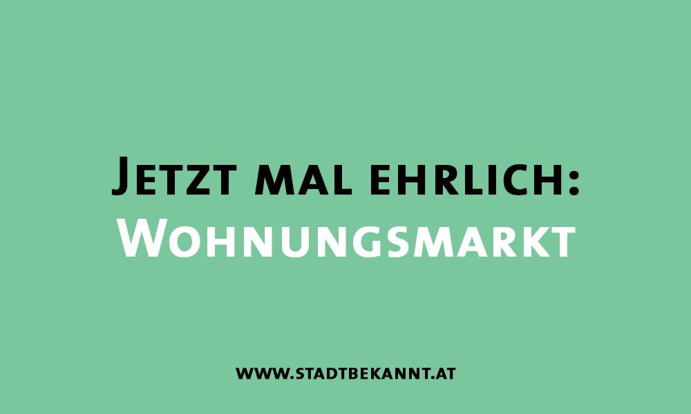 Wohnungsmarkt (c) STADTBEKANNT
