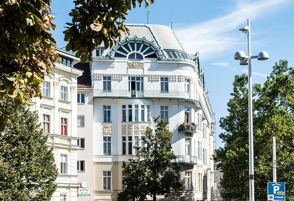 Mariahilf Windmühlgasse Jugenstilhaus (c) STADTBEKANNT