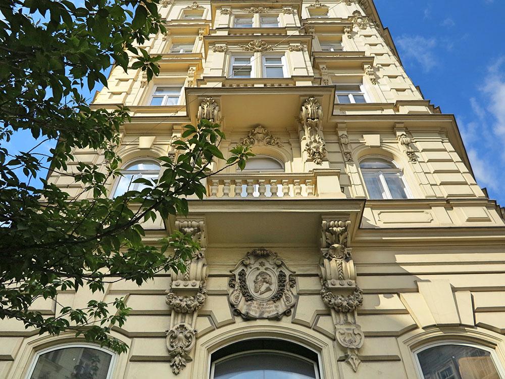 Mariahilf Wohnhaus Ludwig Anzengrubers (c) STADTBEKANNT Jungwirth