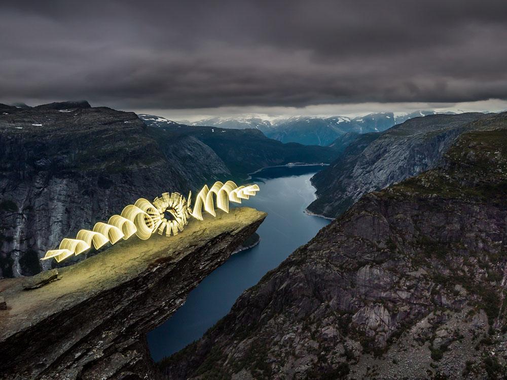 Zolaq - Lighpainting Norwegen
