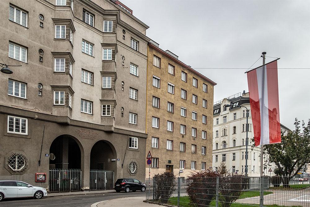 Gemeindebau Wohlmutstraße (c) STADTBEKANNT