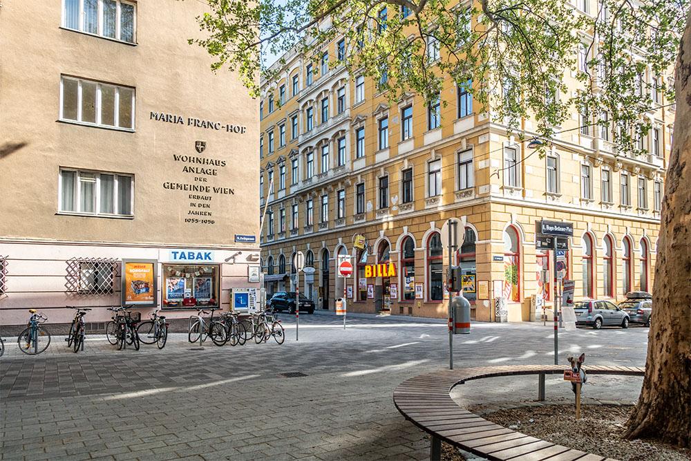 Hugo Bettauerplatz (c) STADTBEKANNT