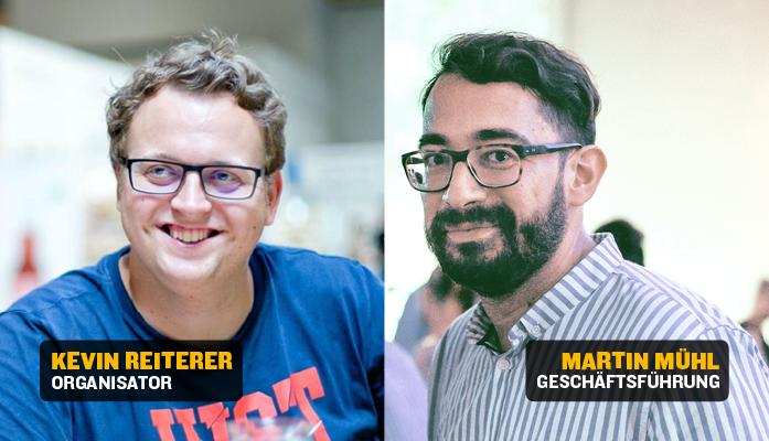 Kevin Reiterer und Martin Mühl
