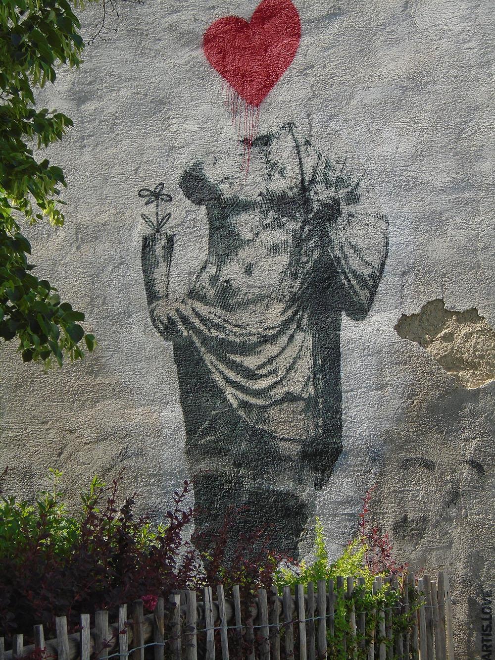 Stencil Dadlergasse (c) Elke Papp