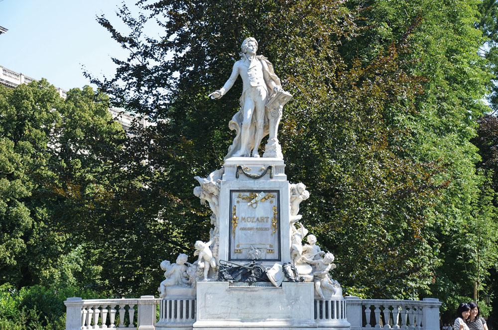 Burggarten Mozart (c) STADTBEKANNT