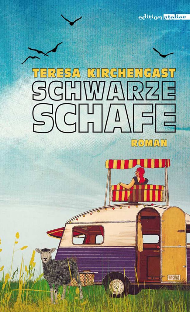 Cover Schwarze Schafe - Teresa Kirchengast (c) Edition Atelier