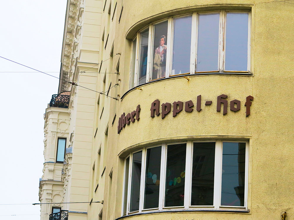 Columbo Albert Appel-Hof (c) STADTBEKANNT Jungwirth