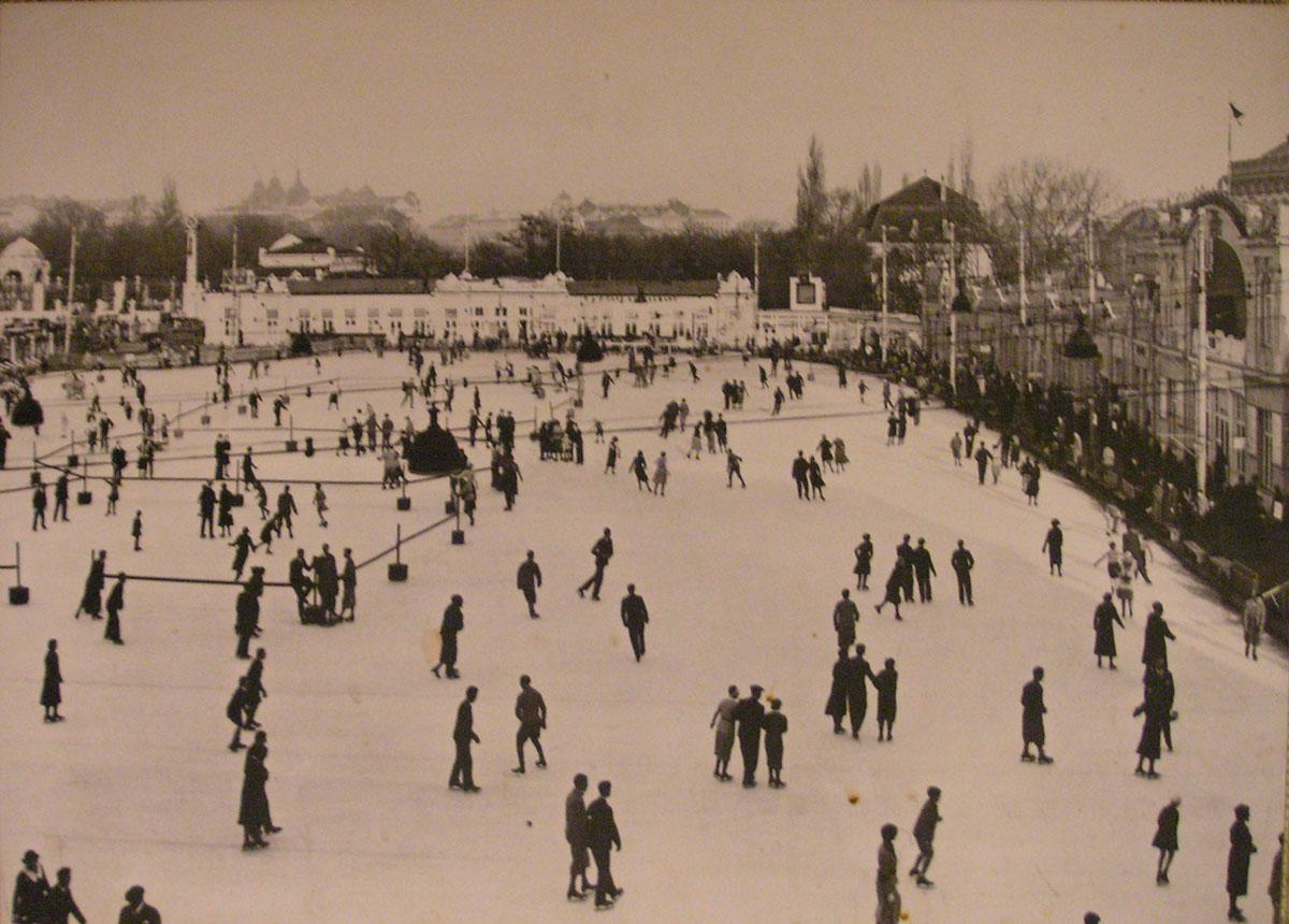 Winterreise Wiener Eislauf Vereinsplatz gemeinfrei