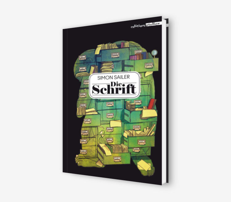 Cover - Die Schrift - Simon Sailer - Edition Atelier