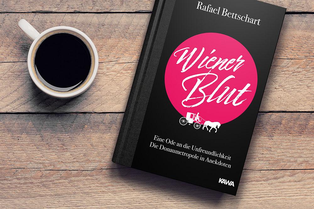 Wiener Blut – eine Ode an die Unfreundlichkeit - Cover